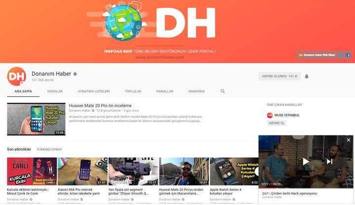 Youtube'un mini oynatıcı özelliği nihayet masaüstü versiyonuna geldi