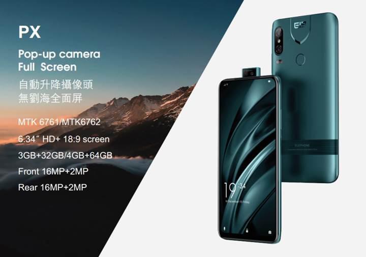 Hareketli kamera modülü ile Elephone U2 Pro tanıtıldı