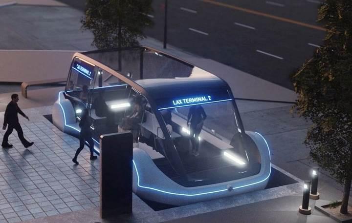 Boring Company'nin ilk yüksek hızlı toplu taşıma tüneli 10 Aralık'ta açılıyor
