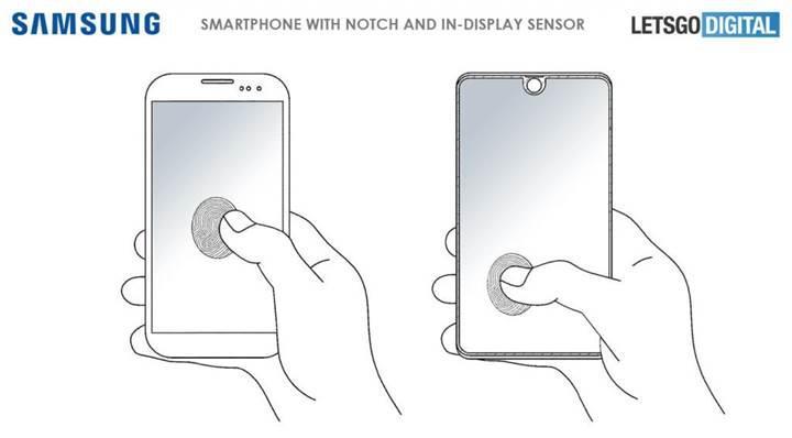 Samsung ekranın tamamında çalışan bir parmak izi tarayıcısı geliştirdi