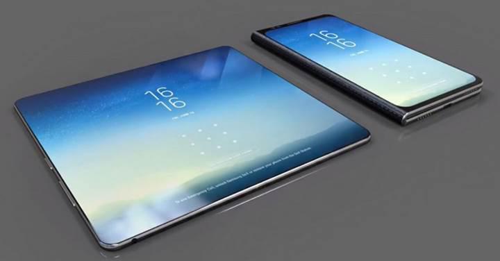 Katlanabilir Samsung telefonu gelecek ay karşımıza çıkabilir
