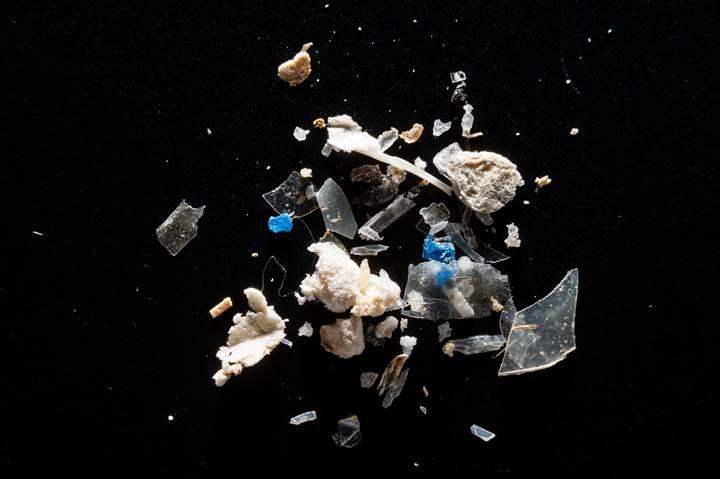 Sindirim sistemimiz küçük plastik parçalarla dolu olabilir