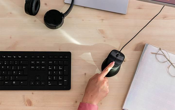 HP parmak izi sensörüne sahip yeni bir fare duyurdu
