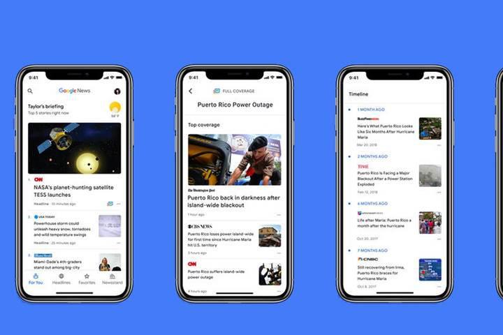 Google News hatası devasa veri tüketimine neden oluyor