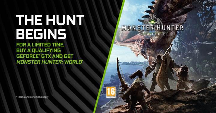 Nvidia Pascal ekran kartları Monster Hunter: World hediyesi ile geliyor