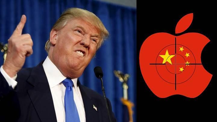Çinli casuslar Trump'ın iPhone'unu dinliyor