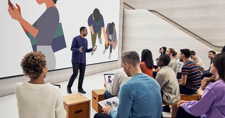 Apple Akasya en iyi Today at Apple etkinlikleri için yenilendi