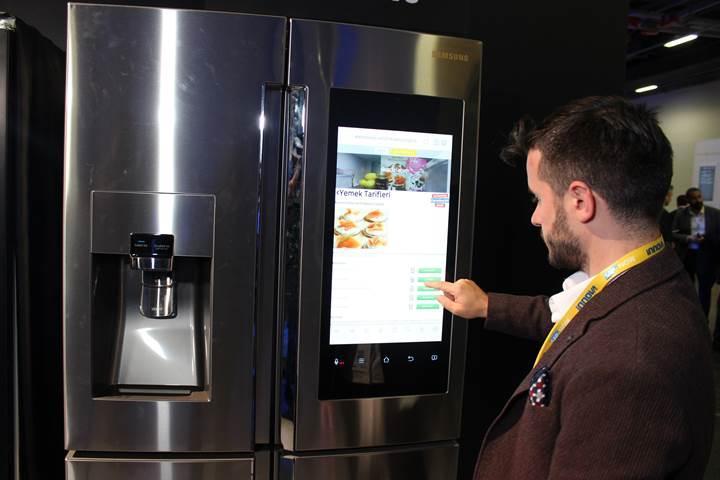 Akıllı buzdolapları ile CarrefourSA'dan sipariş verilebilecek
