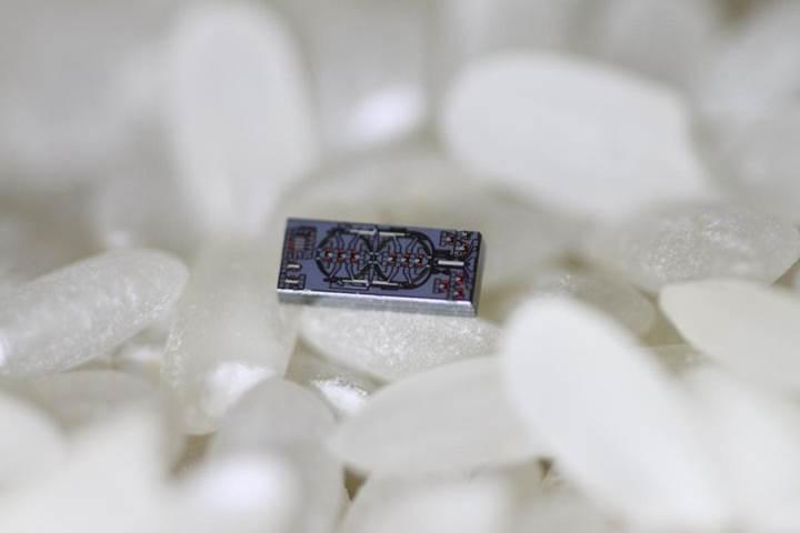 Dünyanın en küçük optik jiroskobu geliştirildi