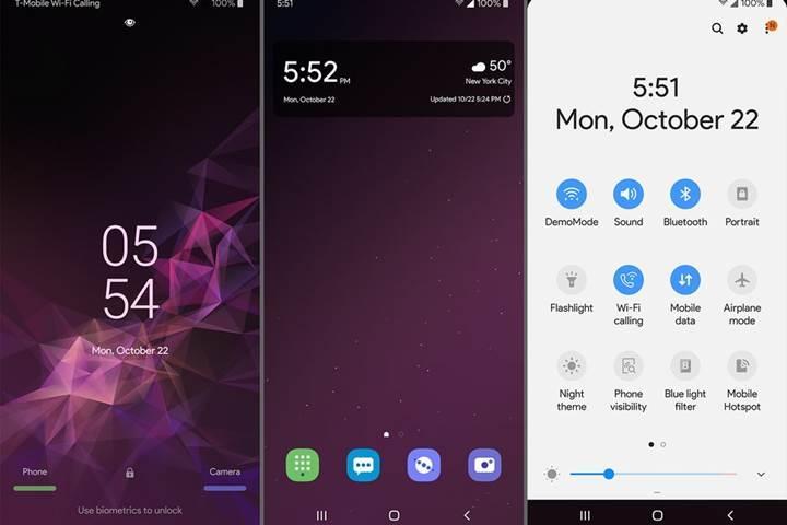 Samsung Experience 10 arayüzüne ait görüntüler ortaya çıktı
