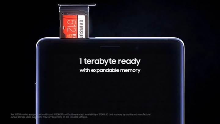 Samsung ilk 512 GB microSD kartını 289.90 euro fiyat etiketiyle satışa sundu