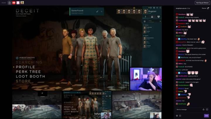 Twitch grup yayınlarına başlıyor