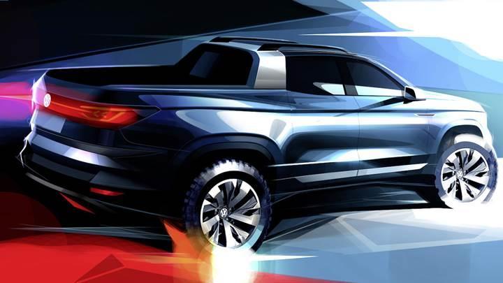 Volkswagen'den yeni bir pick up geliyor