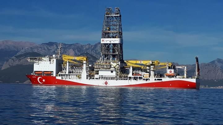Fatih gemisi petrol ve doğalgaz için ilk sondajına başladı