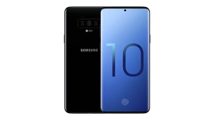 Galaxy S10'da iris tarayıcısı olmayacak: İşte Samsung'un yeni tasarım planı