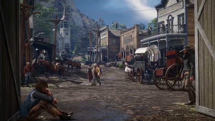 4K Red Dead Redemption 2 Video İnceleme