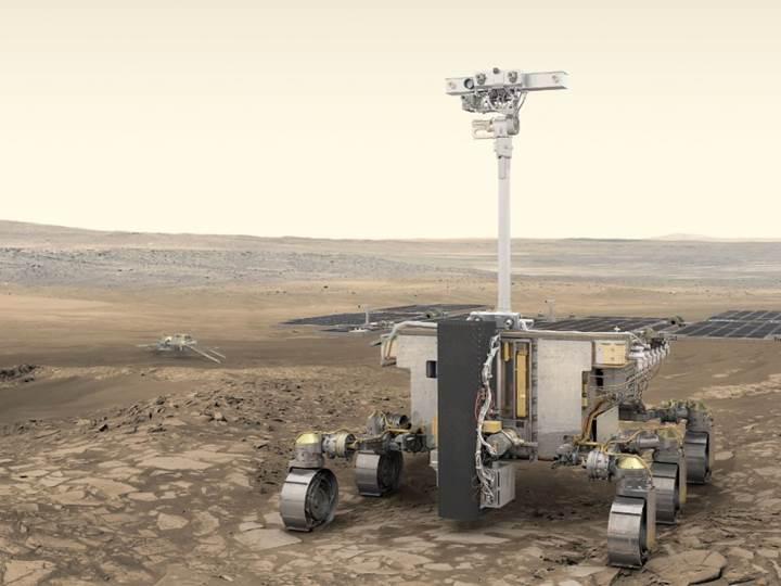 Yeni geliştirilen İngiliz robot, Mars'ta yaşam belirtisi arayacak