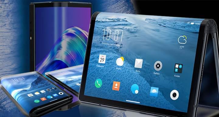 Samsung katlanabilir telefonuyla ilgili yeni bir görsel paylaştı