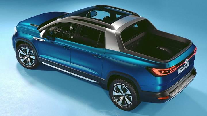 Volkswagen yeni pick-up'ını tanıttı: Tarok ile tanışın