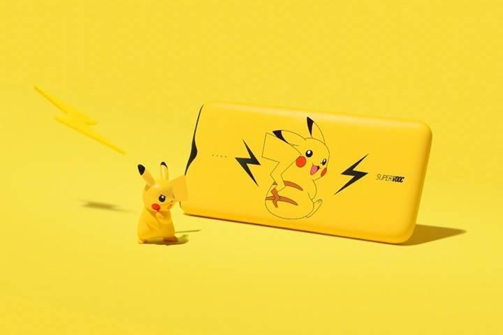 Pikachu taşınabilir şarj aleti adı gibi hızlı