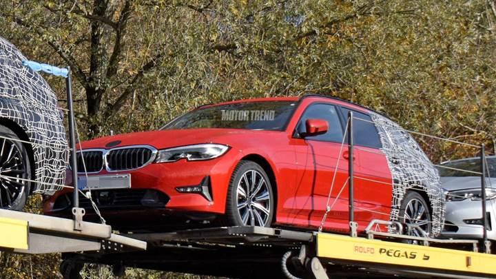 Yeni BMW 3 Serisi Touring modeli kameralara yakalandı