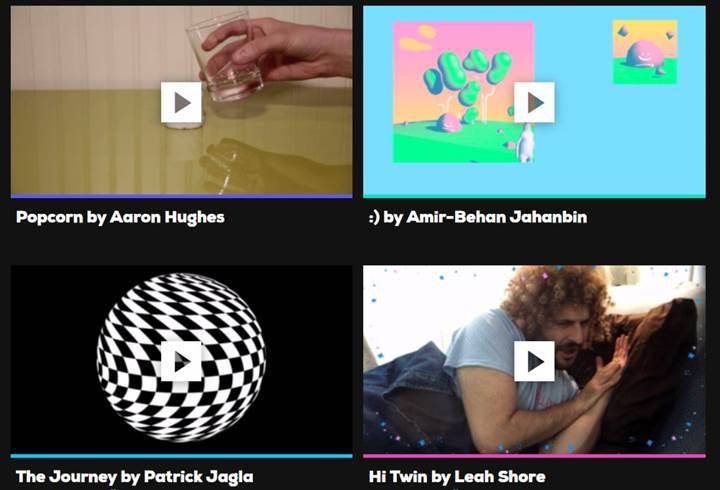 Giphy kısa video platformunu kullanıma sundu