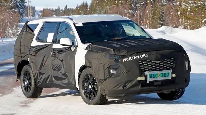 Hyundai'nin yeni büyük SUV'si Palisade, 28 Kasım'da tanıtılacak