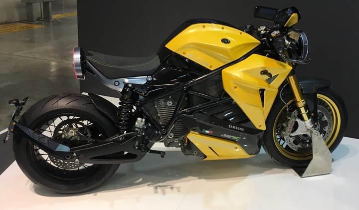 Samsung ortaklığı ile geliştirilen elektrikli motosiklet konsepti Bolid-E görücüye çıktı
