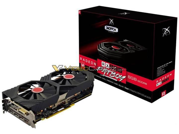 Özel tasarım RX 590 modelleri 1680 MHz'e kadar tırmanıyor