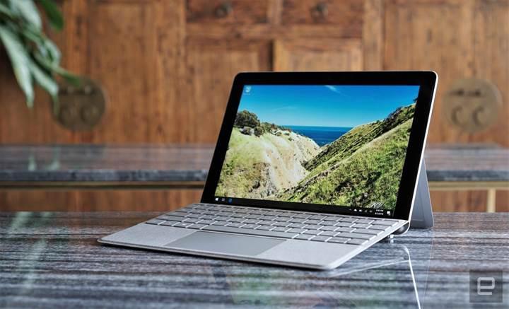 LTEli Surface Go tabletler 20 Kasım'da satışa sunulacak