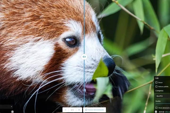 Google'ın tarayıcı tabanlı resim optimizasyon aracı Squoosh hizmete başladı