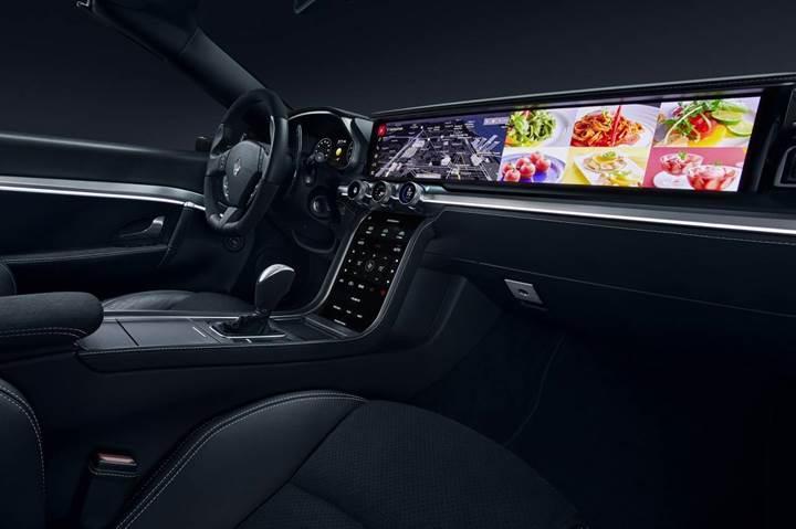 Samsung, otomobiller için geliştirdiği fütüristik kontrol panelini sergiledi