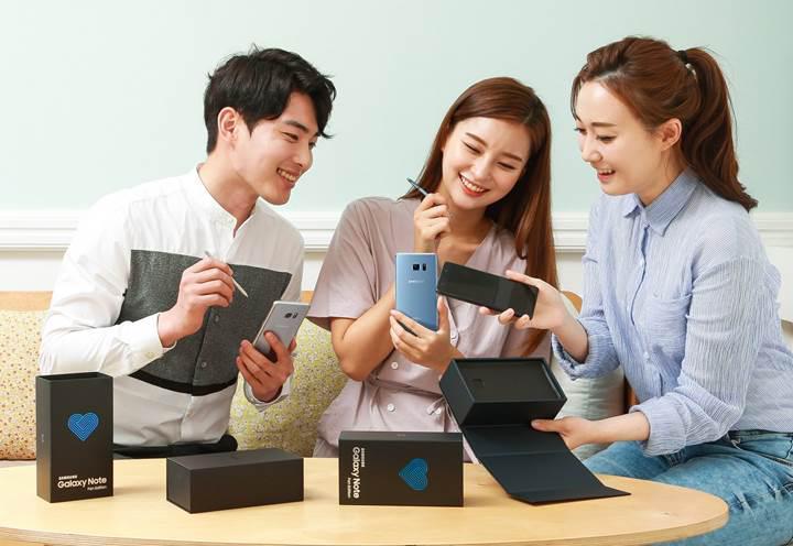 Samsung Galaxy Note 7 Fan Edition kullanıcılarına Android Pie müjdesi