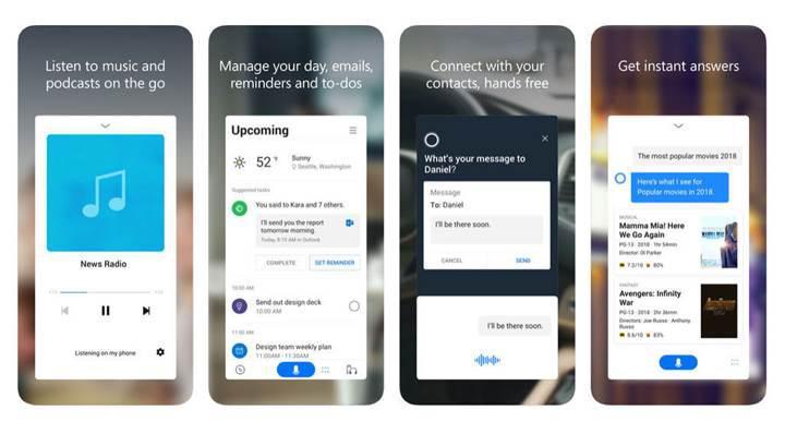 Microsoft yeniden tasarladığı Cortana uygulamasını iOS'ta kullanıma sundu