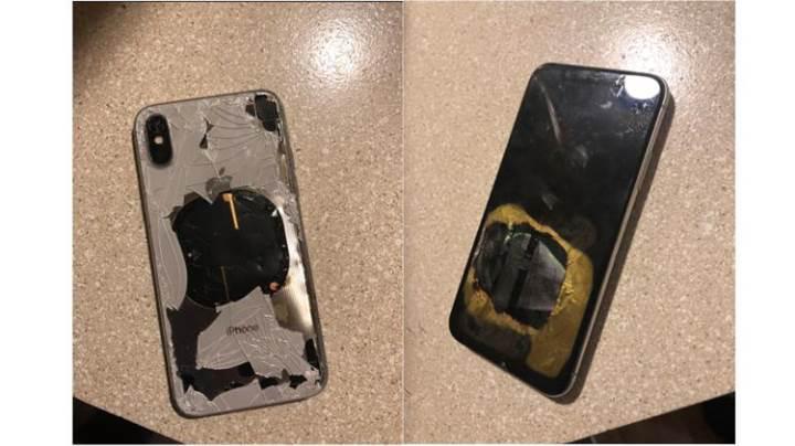 iOS 12.1 güncellemesi alan bir iPhone X patladı!