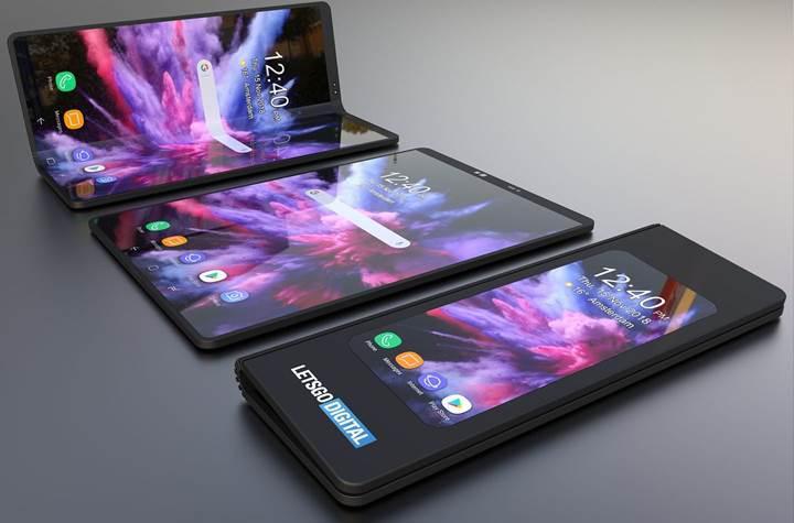 Samsung'un 1.800 dolarlık katlanabilir telefonu işte böyle görünecek