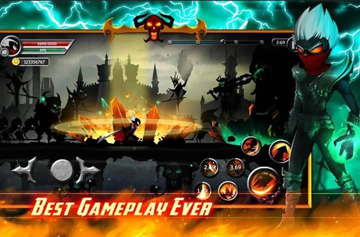 Stickman Legends: Shadow War bir süreliğine ücretsiz oldu