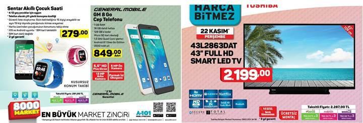 Haftaya BİM marketlerde Galaxy J3 Pro, A101 marketlerde GM 8 Go var