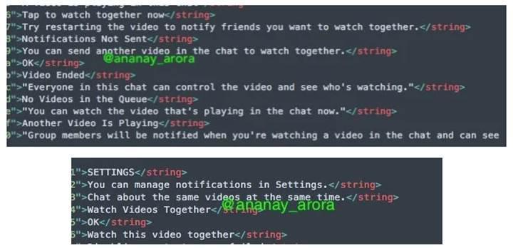 Facebook Messenger birlikte video izleme özelliği