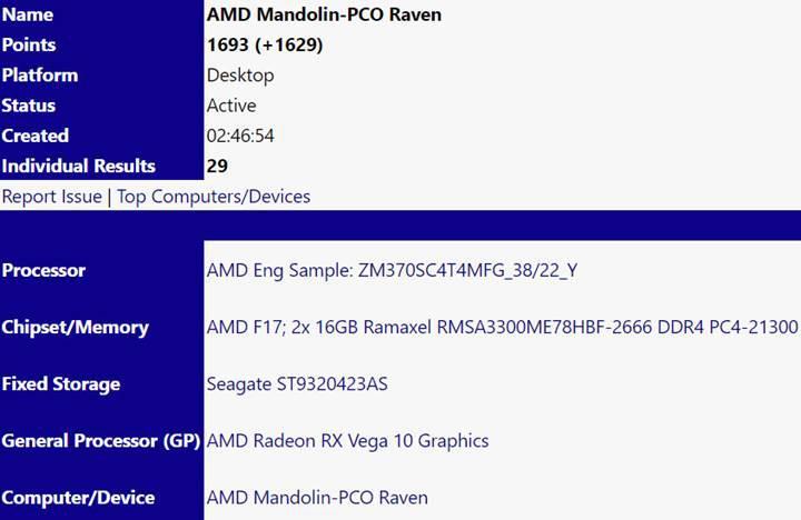 AMD Ryzen 7 3700U APU sızdırıldı