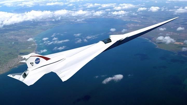 Sivil havacılığın seyrini değiştirecek X-59 QueSST süpersonik uçağın üretimine başlandı
