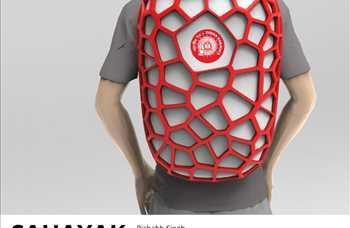 Sahayak, Hintli hamalların işlerini kolaylaştırmak için tasarlanmış bir sırt çantası.