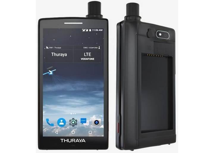 Dünyanın ilk Android tabanlı uydu telefonu Thuraya X5-Touch satışa çıkıyor