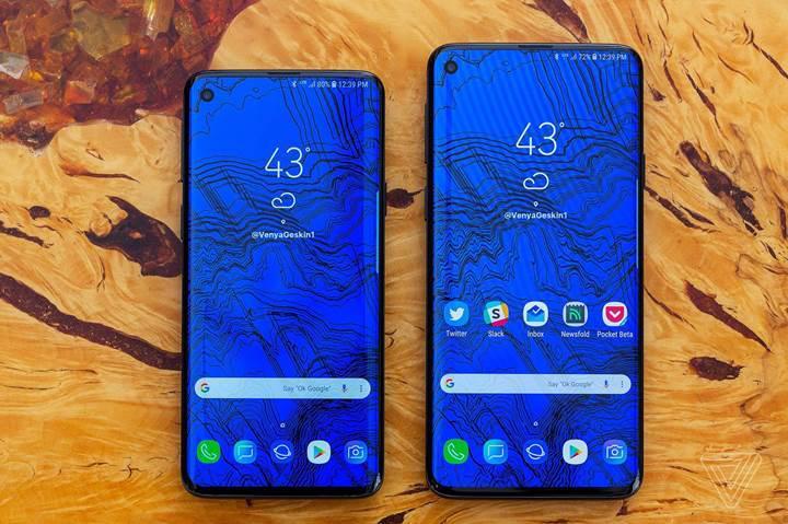 Samsung'un gizli Galaxy S10'u deşifre oldu: Altı kamera, 5G desteği ve 6.7 inç ekran