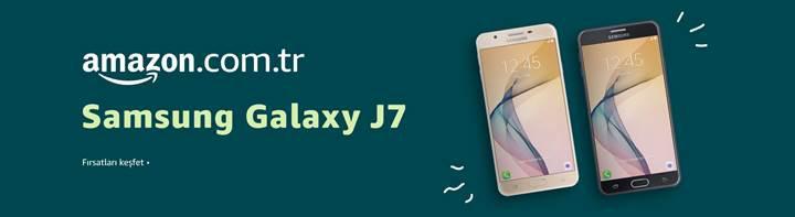 Samsung Galaxy J7 Prime Amazon.com.tr'de 1050TL'den satışta