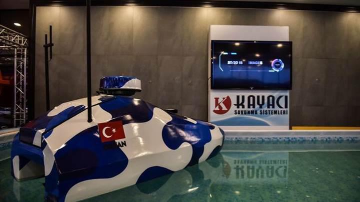 Türkiye'nin ilk yerli ve milli İnsansız Deniz Aracı görücüye çıktı