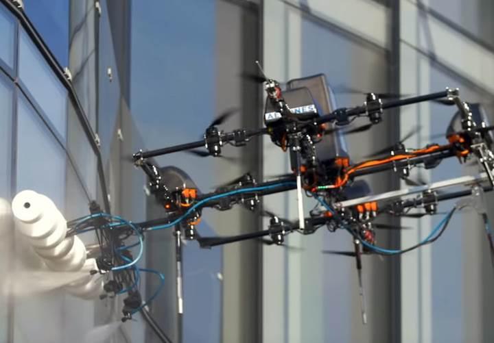 Cam silen Drone'lar geliyor