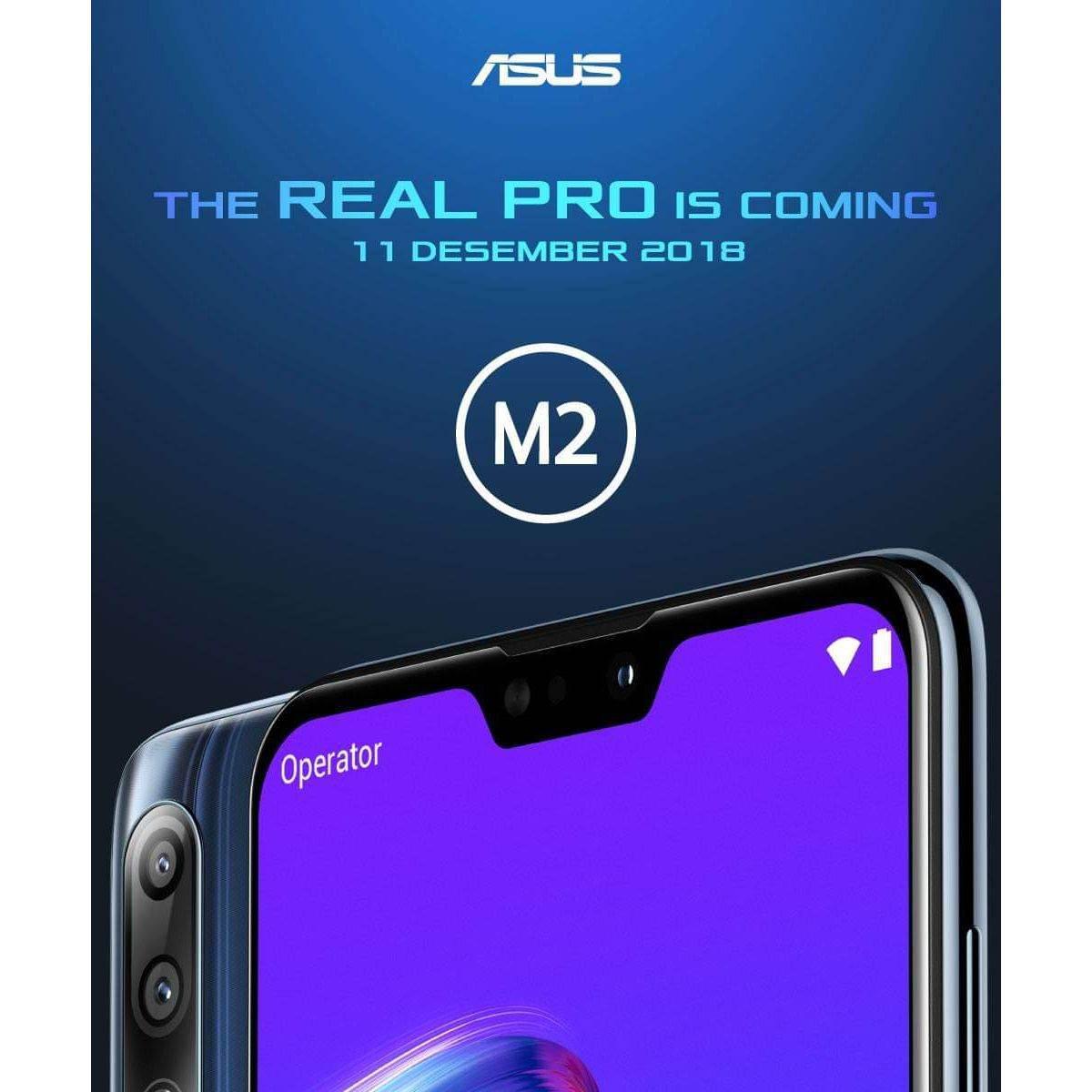 Üç arka kameralı Asus ZenFone Max Pro M2'nin ilk resmi görseli yayınlandı