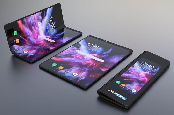 Samsung'un katlanabilir telefonu Galaxy Flex olarak adlandırılacak