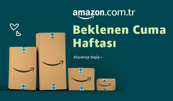 Amazon Türkiye Beklenen Cuma indirimleri başladı!